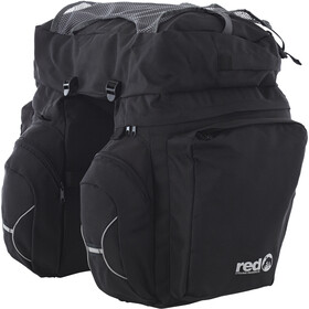 Red Cycling Products Touring Set Bolsa Transporte Equipaje, black